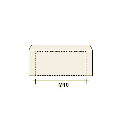 Колпачок на болт/гайку М10 (плоский)