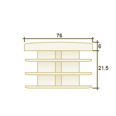 Заглушка круглая д. 76