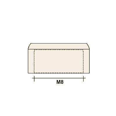 Колпачок на болт/гайку М8 (плоский)